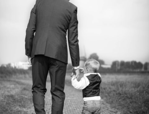 діти з батьком